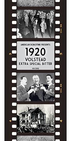 1920 Volstead ESB Beer Label Design