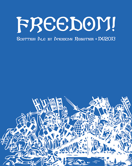 Resistance Series Beer Label - Freedom