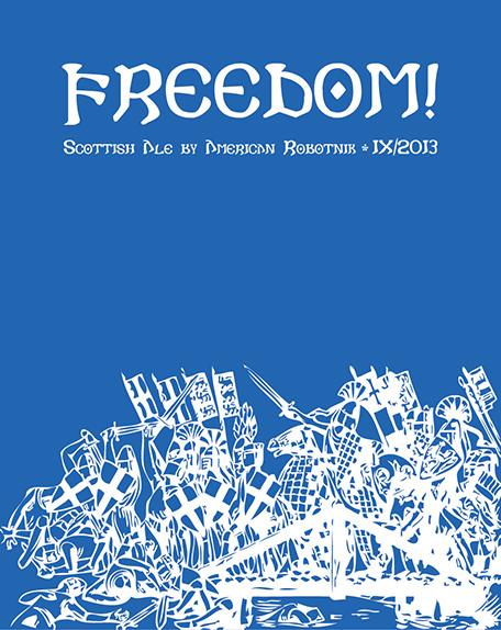 Resistance Series Beer Label - Freedom