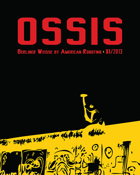 Resistance Series Beer Label Design - Ossis