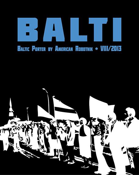 Balti Baltic Porter beer label