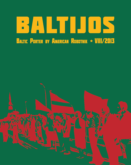 Resistance Series Beer Label Design - Baltijos