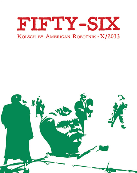 Resistance Series Beer Label Design - Fifty-Six