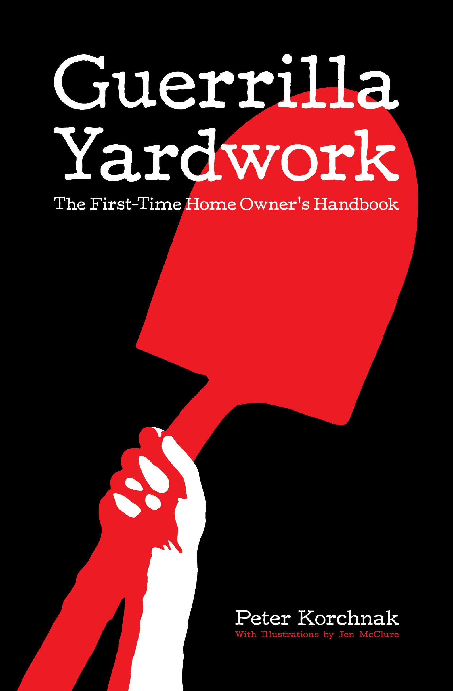 Book cover - Guerrilla Yardwork